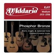 D'Addario EJ17 Phosphor Bronze 13-56 húrkészlet