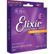 Elixir nanoweb 80/20 Bronz 12-53 készlet