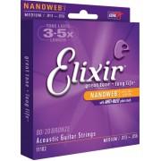 Elixir nanoweb 80/20 Bronz 13-56 készlet