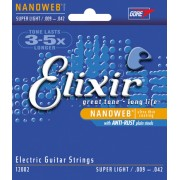 Elixir nanoweb 9-42 készlet