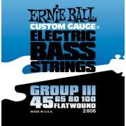 Ernie Ball Flatwound 45-100 készlet