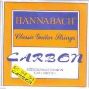 Hannabach carbon trebles E1-H2-G-3