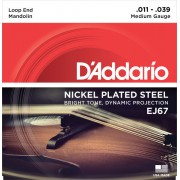 Daddario J67 nikkelbevonatos mandolin húrkészlet 11-39-es