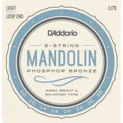 D'Addario EJ73 foszfor-bronz húrkészlet 10-38-as