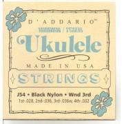 D'Addario J54 Hawai Tenor ukulele húrkészlet