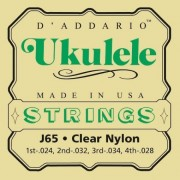 D'Addario J65  ukulele húrgarnitúra