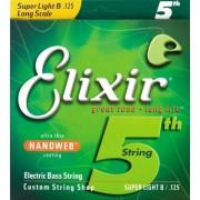 Elixir nanoweb 125-ös 5. húr