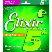 Elixir nanoweb 135-ös 5. húr