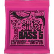 Ernie Ball Super Slinky 5-húros 40-125 készlet