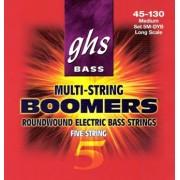 GHS Boomers 5-húros 40-120 húrkészlet